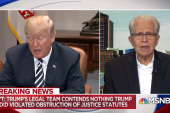 Tribe: White House defense of Trump in memo is 'nonsense'