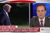 Savage: Memo claims Trump is above the law as officer-in-chief