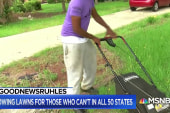 #GoodNewsRuhles: 28-year-old mows lawns for those who can't