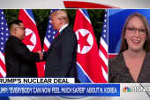 National security expert: North Korea still has everything they had yesterday