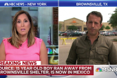 Migrant teen flees Brownsville, TX shelter