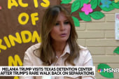 Trump's 'walk of shame' amid fallout over border crisis