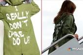 Melania's jacket: hidden message or fashion misstep ?