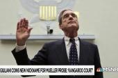 Despite humanitarian crisis Trump, Giuliani continue Mueller attacks