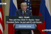Trump stands by embrace of Putin, says he misspoke one word