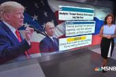 Trump touts Putin defense: 'He said there was no collusion'