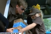 #GoodNewsRUHLES: 6-year-old and UPS driver share special bond