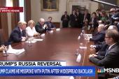 President Trump hits back at critics after Russia backlash