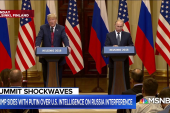 President Trump is serving as a hype man for Putin