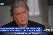 Steve Bannon: Firing Comey was 'a big mistake'