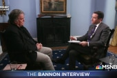 Ari questions Bannon about Trump Charlottesville comments