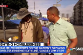 Craig Melvin reports on the nation's growing homeless epidemic
