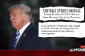 Trump revokes Brennan's security clearance