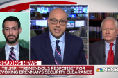 President Trump gearing up to strip more security clearances
