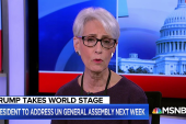 "Ambassador Wendy Sherman on North Korea: ""I am quite skeptical that we are going to make the progress we need to."""