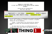 Trump's infamous gaffe correction strategy