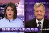 Fmr. Sen. Baucus: Joe Biden should apologize to Anita Hill