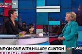 Clinton: Trump will 'wholesale fire people' after 2018 election