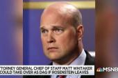 Twist in Rosenstein succession raises concerns for Trump cases