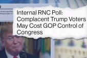 Internal RNC poll shows Trump voters may cost GOP control of Congress
