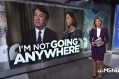 Kavanaugh: 'I'm not going anywhere'