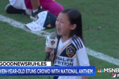 #GoodNewsRUHLES: 7-year-old girl stuns crowd with national anthem