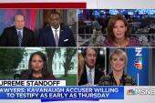 Trump questions Kavanaugh accuser's credibility