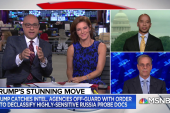 President Trump declassifying Russia probe docs as Manafort flips