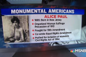 #MonumentalAmerican: Woman who fought for female voting rights