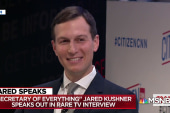 Watch Jared Kushner explain his secret to Mideast peace in 2018