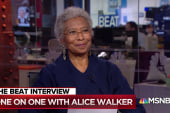 Author Alice Walker: Trump has 'inferiority complex', envied Obama
