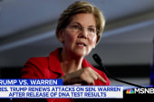Did Sen. Elizabeth Warren try to 'Out Trump' Trump?