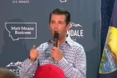 Donald Trump Jr. hits campaign trail ahead of midterms
