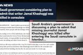 Trump floats 'rogue killers' on Khashoggi disappearance