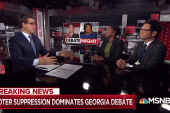 Voter suppression dominates Georgia gubernatorial debate