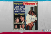 Was the Gary Hart scandal just a set-up by the Bush campaign?