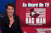 Podcast programming note! Rachel Maddow presents: Bag Man