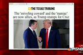 Trump stumps for Cruz; evangelical women look to O'Rourke