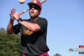 Picked for MLB draft after injury ends his career