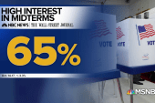 NBC/WSJ poll shows high voter interest ahead of midterm elections
