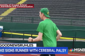 #GoodNewsRUHLES: Nike signs athlete with cerebral palsy
