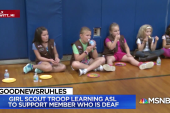 #GoodNewsRUHLES: Girl Scout teaches peers sign language