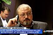 Khashoggi's death both 'murder mystery' & 'geopolitical thriller'