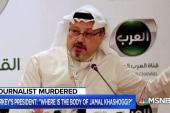 'Global chess match' unfolding in wake of Jamal Khashoggi's death
