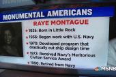 #MonumentalAmerican: The U.S. Navy's 'hidden figure'