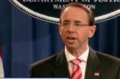 Deputy Attorney General Rod Rosenstein defends Mueller probe
