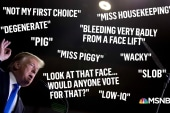Trump's 'misogyny' on display as midterms approach