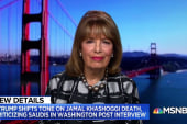 Rep. Speier: 'What we have seen is a president who I believe had concocted a script with the Saudis early on because the words they use are the same'