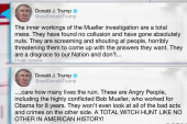 Trump rages about Mueller probe, calling it a 'total mess'
