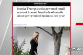 Ivanka Trump Attorney says personal emails used 'for logistics and scheduling'